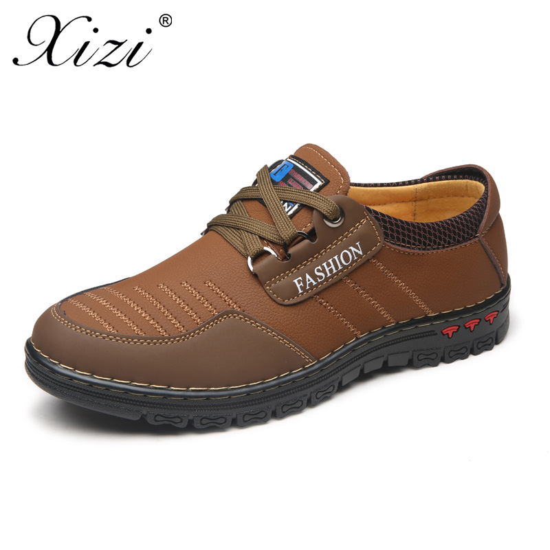 XIZI Fashion Brand superstar Men Casual huaraches Shoes Men PU Leather Lace-Up Men Loafers Shoes Mens Flats Dad krasovki Shoes<br>