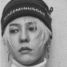 Fashion  BIGBANG gd PEACEMINUSONE PMO KNIT CAP hat grogon FXXK IT LAST DANCE MV HAT Strech  funny SKULL CAP  Cuff  Beanie HAT