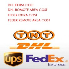 EXTRA SHIPPING COST FOR DHL/FEDEX REMOTE AREA OR SOME COUNTRY NEED EXTRA COST