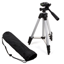 Portable Aluminum Camera Tripod Stand For Canon Nikon Sony Camera Professional Camera Camcorder Tripod For Phone Tablet Camera