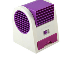 Ventilador Power Bank Bladeless Fan Air Conditioner Ventilador Portatil Battery Abanicos Aromatherapy Ventilateur Plastic Leque(China)