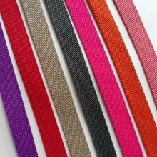 10 yards/lot thickening backpack belt luggage bag pure cotton webbing diy accessories 2CM wide(China)