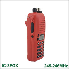 Brand New Walkie Talkie IC-3FGX 245-246MHz 100 Channels 5.5W 100 Channels DTMF Encoder FM Transceiver Two-way Radio(for icom)(China)