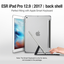 Case for iPad Pro 12.9 inch 2017, ESR Soft TPU Corner Bumper Protection PC Shell Back Case for iPad Pro 12.9 inches 2017 2nd Gen