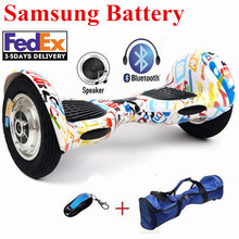 10 inch Two Wheel Hoverboard Smart Electric Scooter 700W Samsung battery+Bluetooth Electric Skateboard Smart Balance hover board
