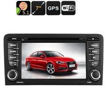 2-DIN Car DVD Player - Android OS, WiFi, GPS, 7 Inch Display, Google Play, Quad-Core CPU(China)