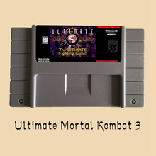 Ultimate Mortal Kombat 3 16 bit Big Gray Game Card For USA NTSC Game Console Free Shipping!(China)