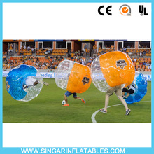 Free shipping 1.0mm TPU 1.5m diameter bubble soccer,bubble football,bumper ball for adults