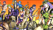 "JoJo no Kimyou na Bouken Part 7 Steel Ball Run Japan Anime Art Silk Fabric Poster 36"" x 24""(China)"