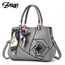 Buy ZMQN Fashion Designer Handbags Solid Flowers Crossbody Bags Womens Famous Brands High Leather Bags Outlet European for $24.60 in AliExpress store