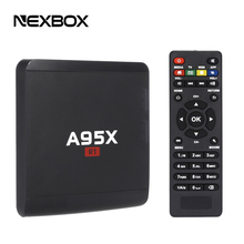 A95X R1 TV Box Rockchip RK3229 Quad Core CPU Android 6.0 1GB 8GB Smart Set Top Box 2.4G WiFi HDMI 2.0 HD Streaming Media Players