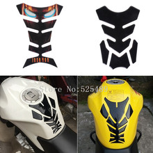 6 Styles For Honda Yamaha Kawasaki Suzuki KTM Ducati Aprilia Benelli 3D Motorcycle Fuel Tank Decals Pad Protector Cover Stickers(China)