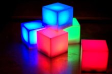 Novelty Lighting lampe puzzle Multi Color led cube light led novelty items portable lighting novelty gift