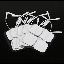 New Trendy 20Pcs Replacement Pads for Massagers Tens Units Non-woven Fabric Electrode Pads