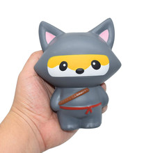 Soft Jumbo Cartoon Cat Cartoon Squishy Slow Rising Squeeze Stress Reliever Toy Stress ball Stress Reliever Anti stress(China)