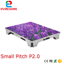Ultra high definition small pixel pitch P2.0 indoor full color video led display screen for advertising meeting,stage,malls(China)