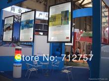 3PCS A1 Double sided Hanging Aluminum Led Poster Frame Advertising Light Boxes