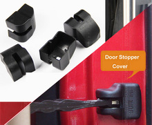 ACCESSORIES FIT FOR TOYOTA YARIS KLUGER FJ CRUISER HIGHLANDER RAV4 DOOR CHECK ARM COVER STOPPER LOCK HINGE CAP(China)