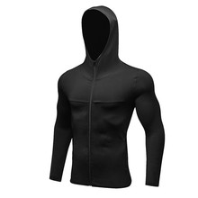 Men Running Sport Jacket Hoodie Sportswear Training Fitness Gym Jacket Sports Wear(China)