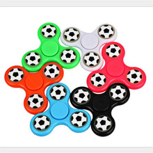 Buy New creative luminous fingertips gyro hand spinner abs football fingertips gyro spinner fidget spinner anti stress sports toys for $2.56 in AliExpress store