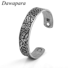 Buy Dawapara Magnetic Pulseira Feminina Health Vintage Phoenix Shape Metal Cuff Bangle Bracelets Jewelry Women Man Gifts for $4.98 in AliExpress store