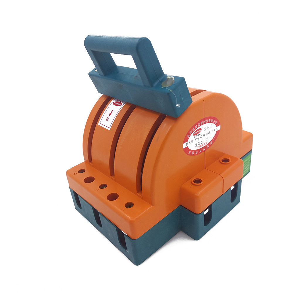AC380V Heavy Duty 100A Three 3 Poles Double Throw Knife Disconnect Switch Delivered Safety Knife Blade Switches<br>