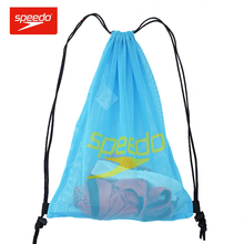 Speedo Lightweight storage Backpack Tote Bags Swim Containers Travel Sport Home Drawstring Bag