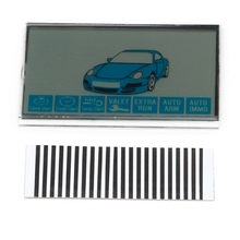 1Pc LCD Display For Russian Version Starline B9 LCD Remote Controller Car Alarm Security
