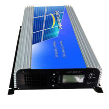 MAYLAR@ 1500W Grid Tie Power Inverter Pure Sine Wave inverter 45-90V DC to AC 220Vac Solar grid tie Inverter with LCD display