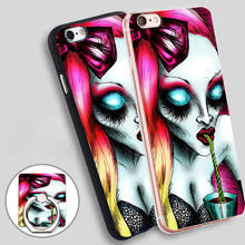 neon blood women sock Soft TPU Silicone Phone Case Cover for iPhone 4 4S 5C 5 SE 5S 6 6S 7 Plus