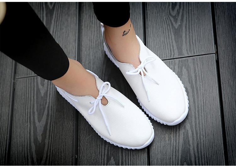 AH 2816 (11) Women's Leather Flats Shoes