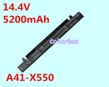 5200mAh New Replacement Laptop Battery For Asus A41-X550 A41-X550A A450 A450C A450CA X450 X450CC A550 A550LA X452 X550 X450LC