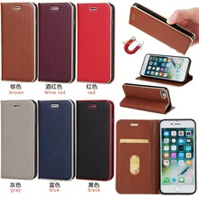 Buy Leather Case Apple iPhone 5 5s SE /6 6s /6 6s Plus Wallet Credit Slot Stand Cover Luxury iPhone 7 Magnetic flip Holster for $5.83 in AliExpress store
