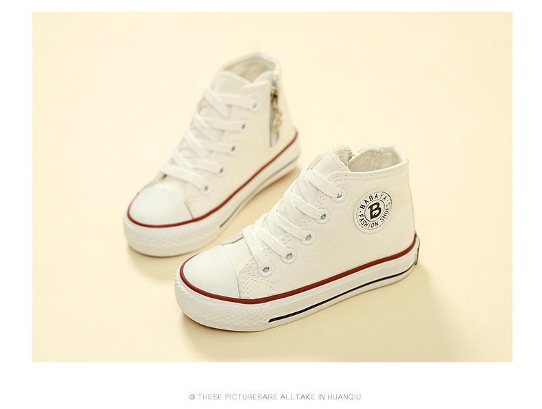 Enfants chaussures pour fille enfants toile chaussures garçons 28