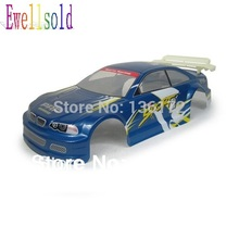 Ewellsold 1/10 Remove Control Car 1/10 rc car Body Shell 200mm 2pcs/lot free shipping(China)