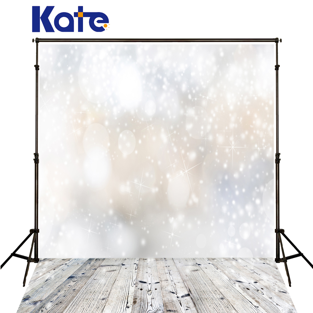 Kate Christmas Photography Backgrounds White Spot Dream Fond Studio Photo Wood Texture Floor Christmas Backdrops photo Studio<br>