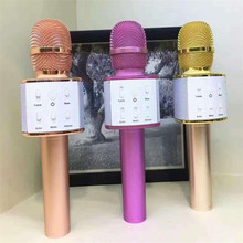 New Bluetooth Karaoke Microphone Wireless Professional Player speaker For KTV For Iphone Android Smart Phones