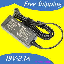 19V 2.1A 40W 2.5*0.7MM Replacement  For ASUS eee pc 1001ha Netbook Laptop AC Charger Power Adapter Input 100-240V free shipping