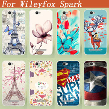 Popular Cover For Wileyfox Spark Lovely 3D DIY Case Cartoon Design Painted Phone Cover Case For Wileyfox Spark covers