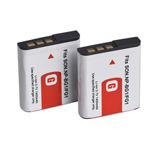 2 pack Camra Battery For Sony NP-BG1 Type G Lithium Ion Rechargeable Battery Pack for Sony W Series, Digital Cameras