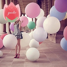 Free Shipping Super Large 70cm Pearl Latex balloon Float air balls inflatable wedding birthday party decoration toys