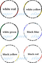 GIANT Racing 40 Reflective Wheelset bisiklet mountain bike cycling wheel sticker MTB bicicleta disc bicycle stickers 26/27.5er