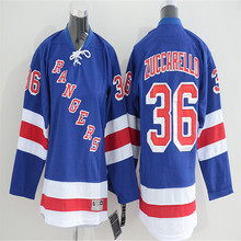 Mens Mats Zuccarello Embroidered Throwback Hockey Jersey Size M-3XL(China)