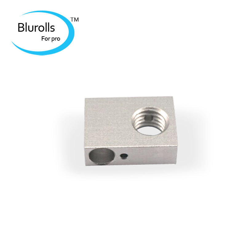 3d printer accessory budaschnozzleV2.0 heater block aluminum oxidation treatment top quality free shipping<br><br>Aliexpress