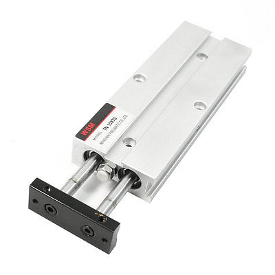 10mm x 70mm Dual Action Double Rod Guide Type Pneumatic Air Cylinder  Free Shipping<br><br>Aliexpress