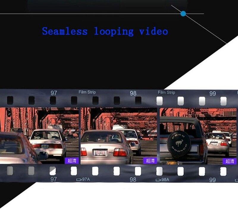 Full Hd 1080p Dual Lens Mirror Car Camera Rearview Auto Dvrs Cars Dvr Night Vision Parking Video Recorder Registrator Dash Cam