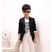 Kids Outwear Jacket 2017 Hot Sale Boys clothes Blazers Kids Long Sleeved Sing-breasted Small Boy Suit For Wedding Fashion 1226
