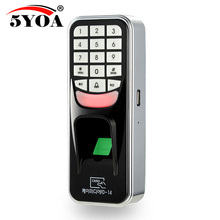 5YOA 5YBM1A Fingerprint Password Key Lock Access Control Machine Biometric electronic door lock RFID reader scanner system