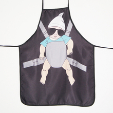 Funny Aprons Novelty Cool Baby Daddy Cooking Apron for Fancy Dress For Gift design lovers gift(China)