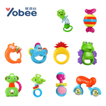 Buy Yobee Soft Rattles Sets Big Milk Bottle Hand Shake Bell Ring Teether Product Newborn Baby Toys Gift Box 0-12 Months for $8.99 in AliExpress store